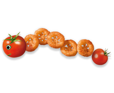 Saucy Tomato Noughts & Crosses Organimal
