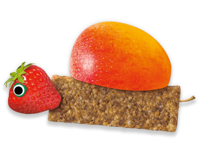 Strawberry & Apple Soft Oaty Bars Organimal