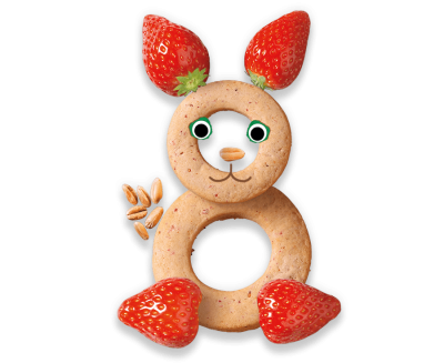 Strawberry Baby Biscuits Organimal
