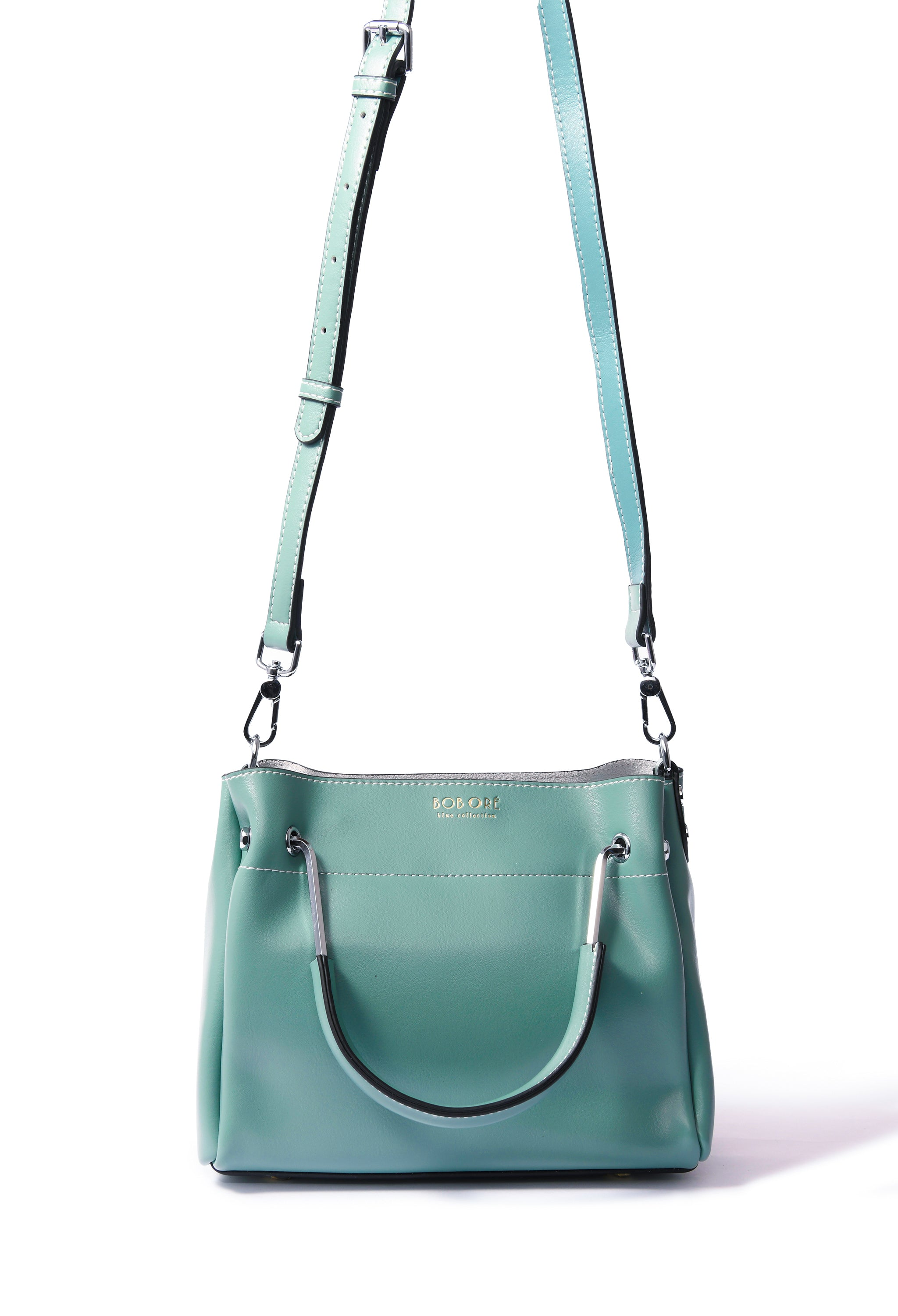 Jillian Bag in smooth leather, Green
