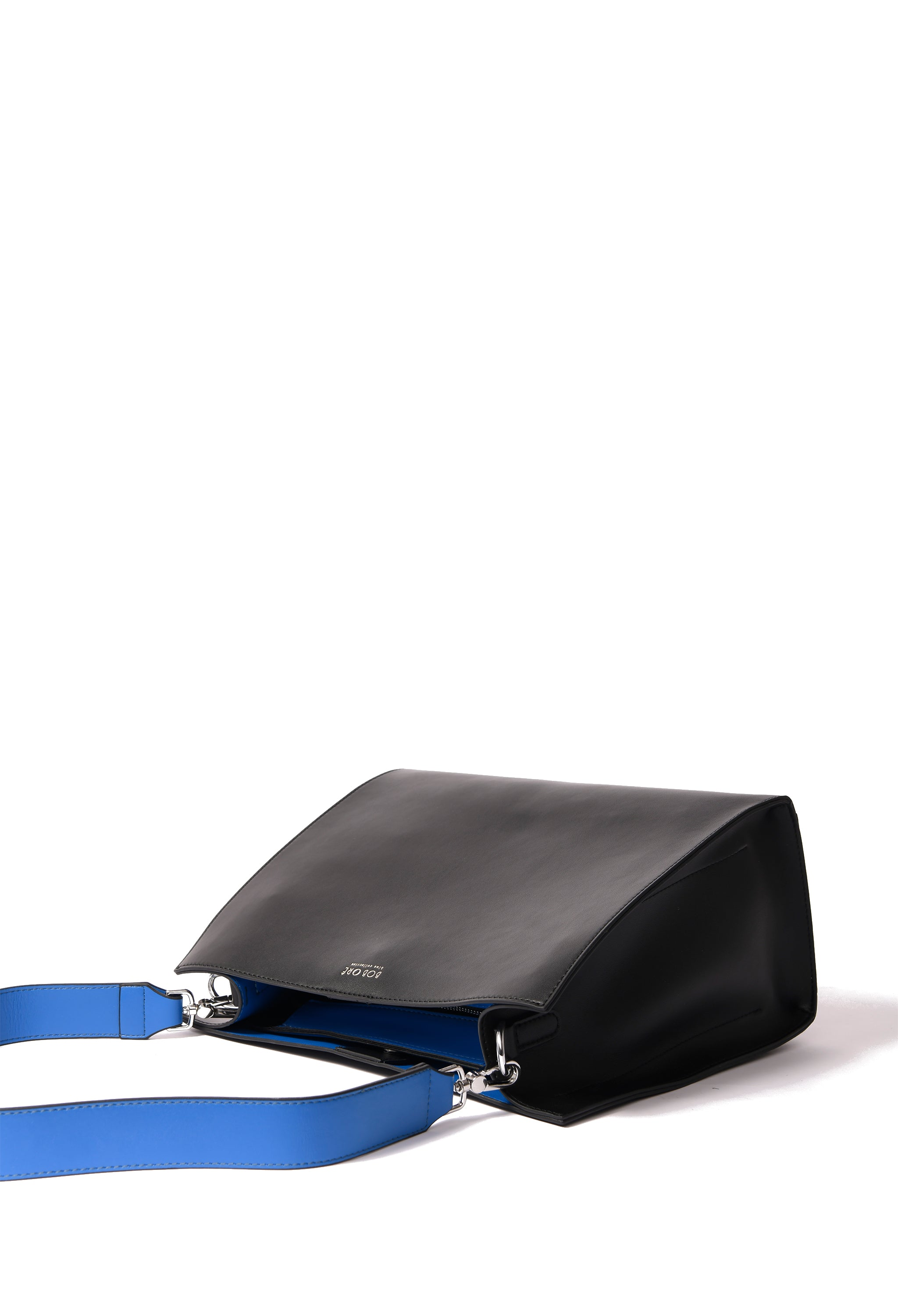 Zoe Bag in smooth leather, Black