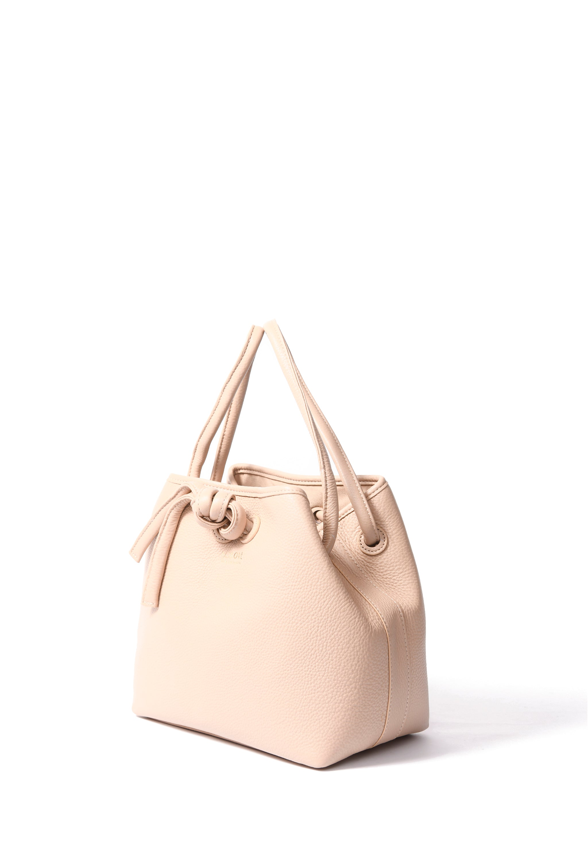 Arianna Bag in soft leather, Pink