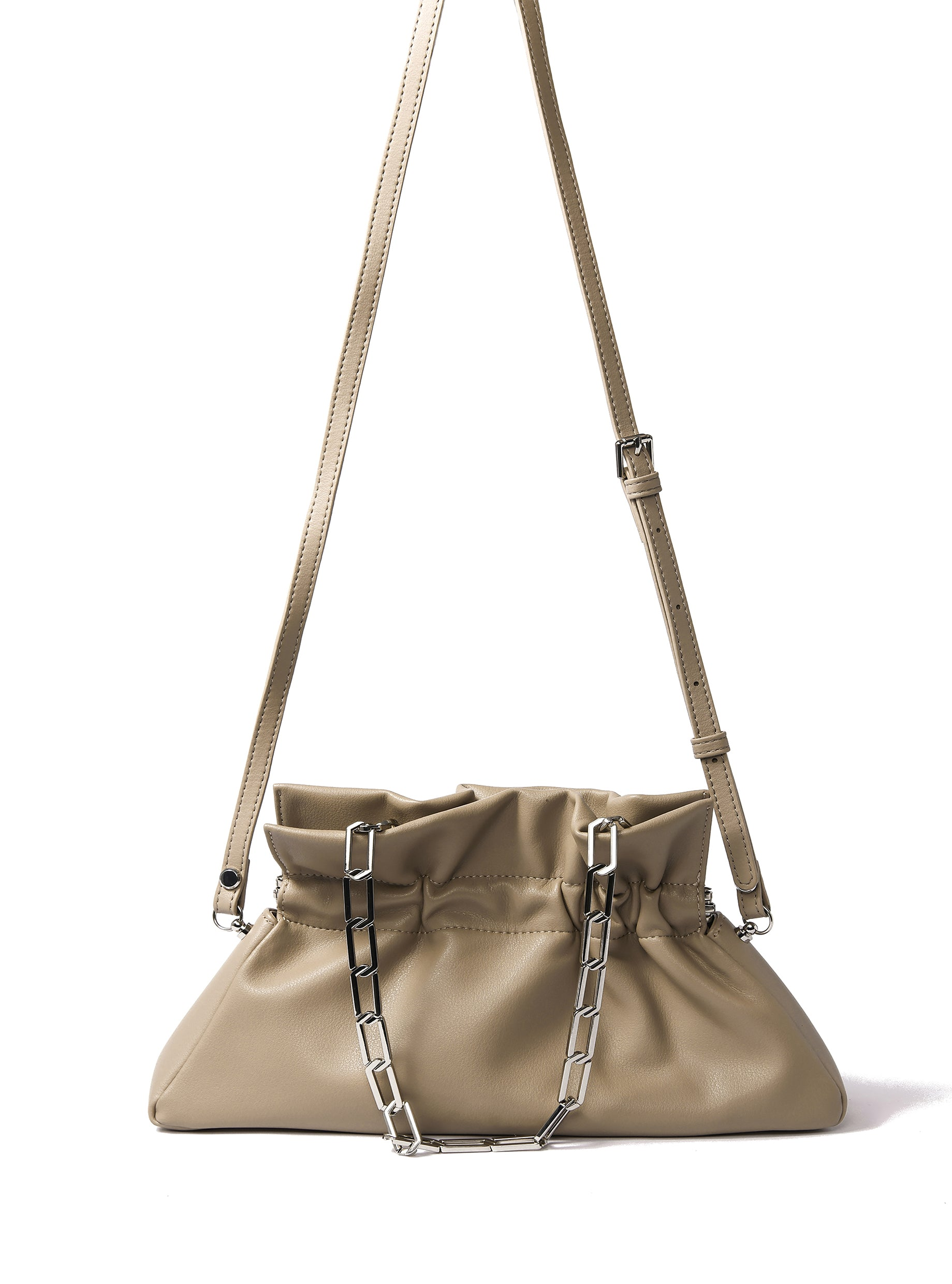 Mila Bag in smooth leather, Coffee