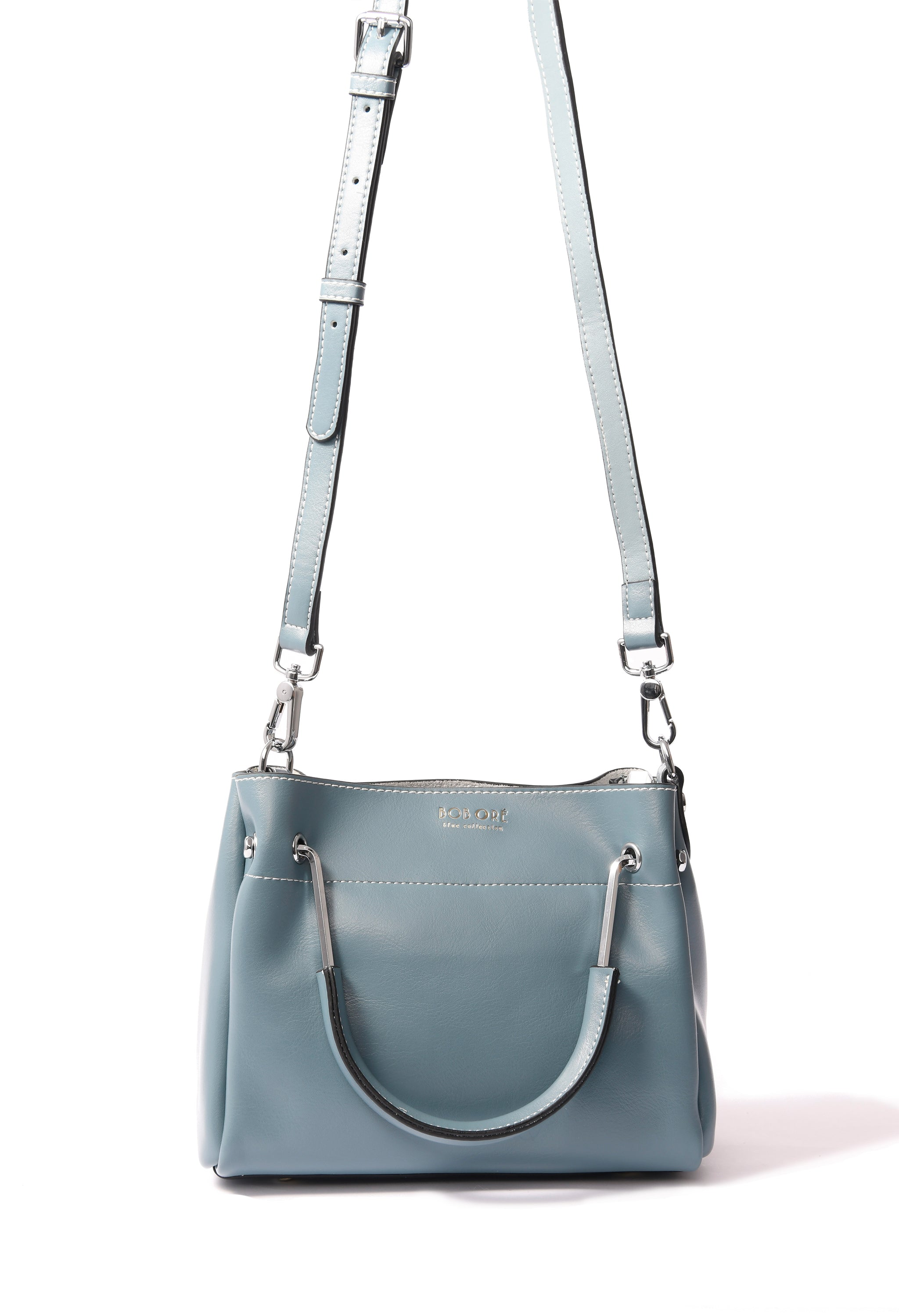Jillian Bag in smooth leather, Blue