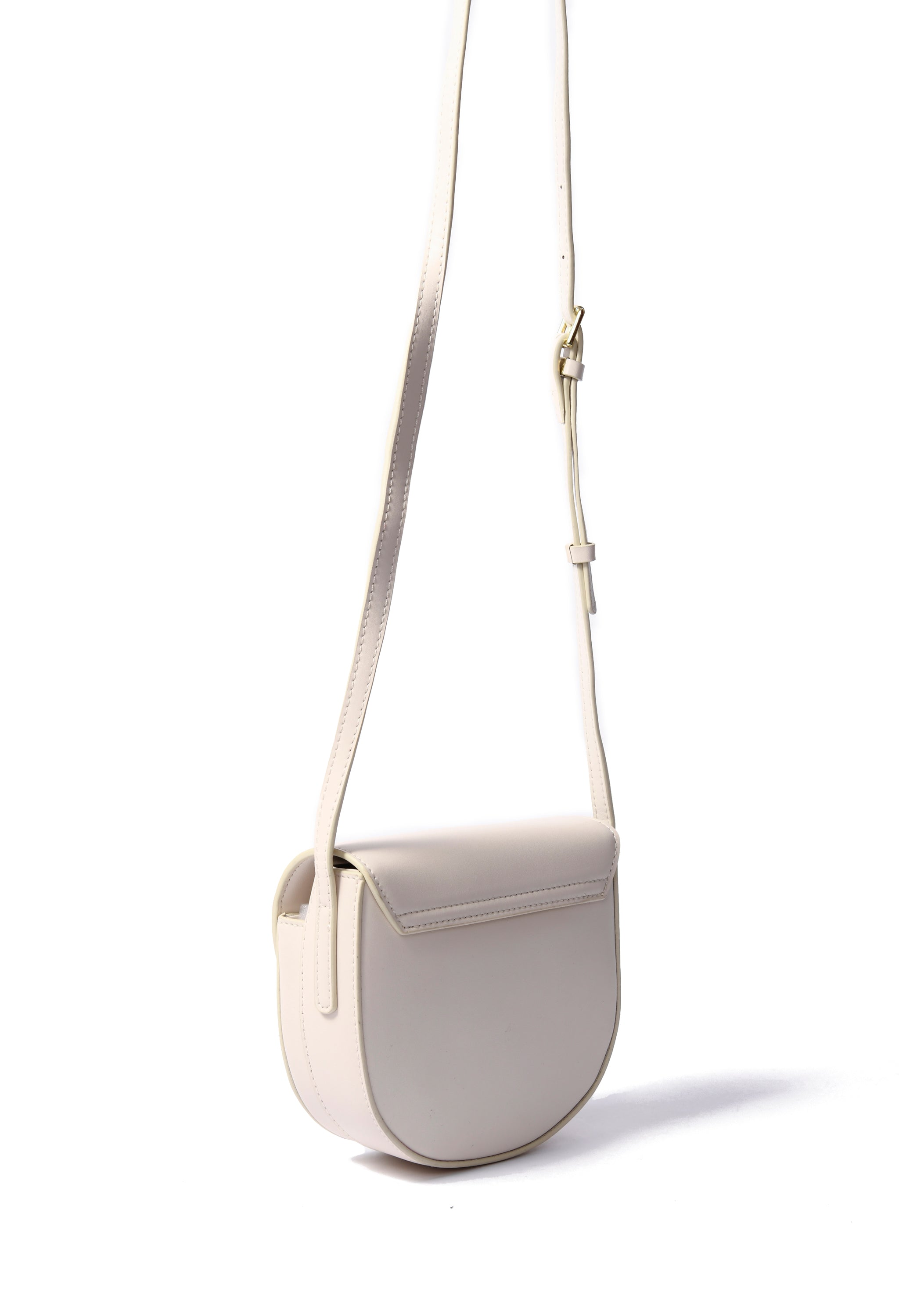 Lea Bag in smooth leather, white