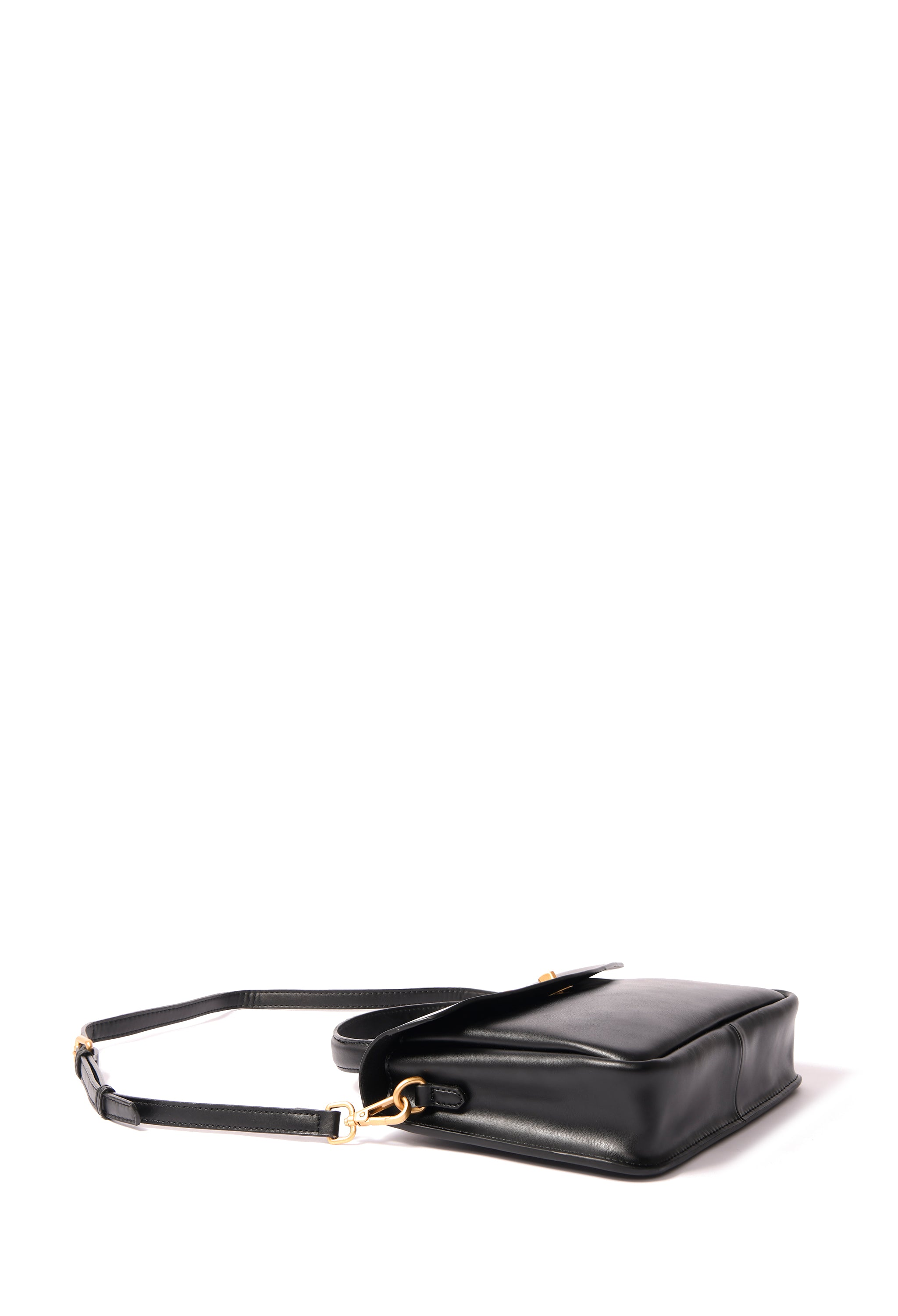 Cassidy Bag in smooth leather, Black