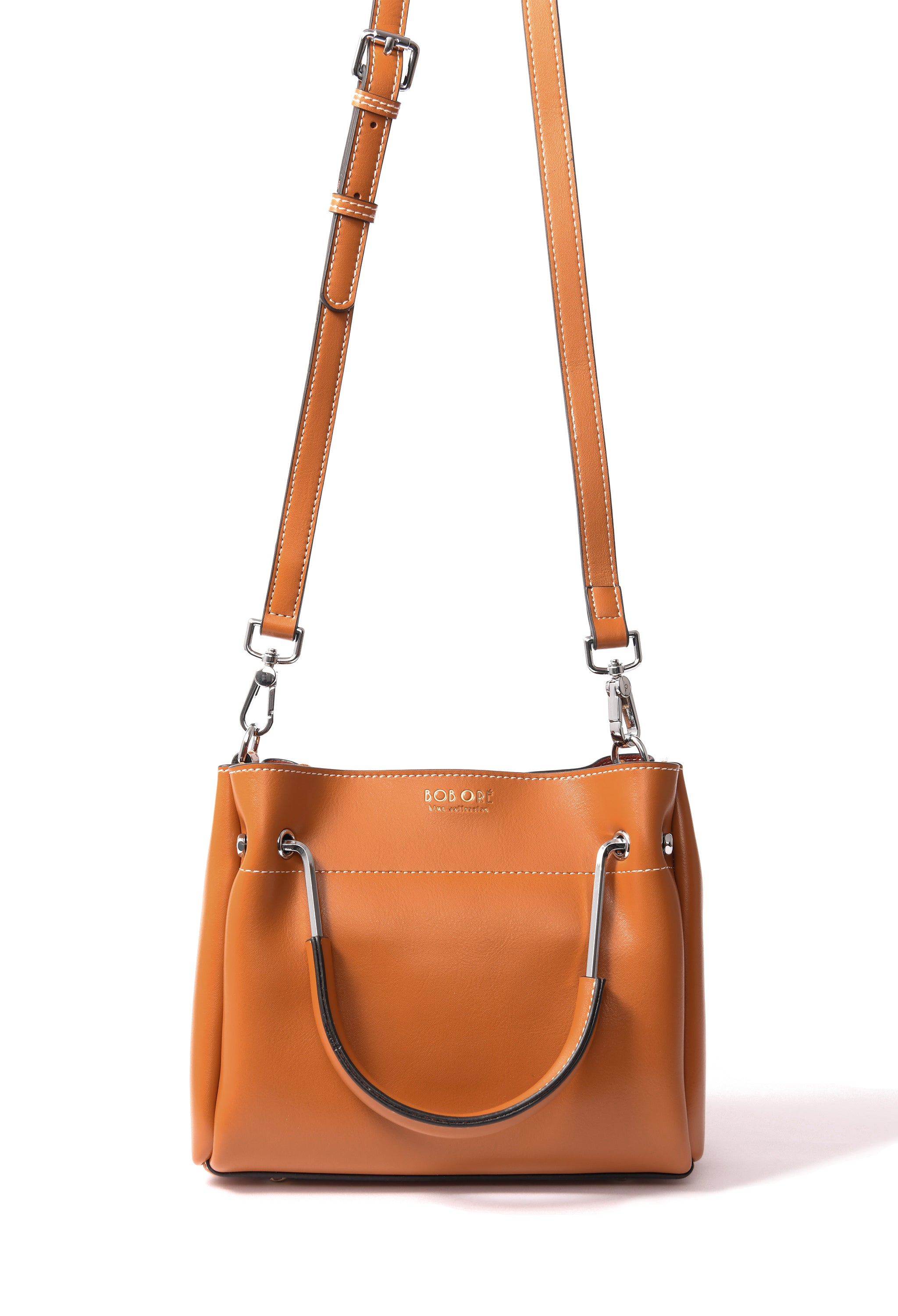 Jillian Bag in smooth leather, Brown