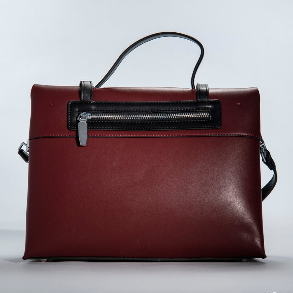 O-Free Handle Bag Messager Bag for Women Designer-Wine