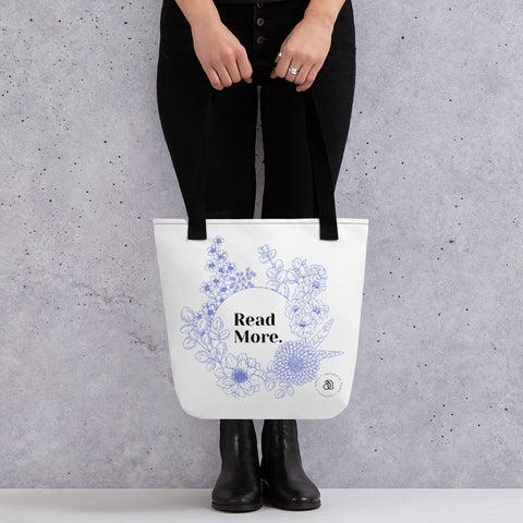 'Read More' Tote bag