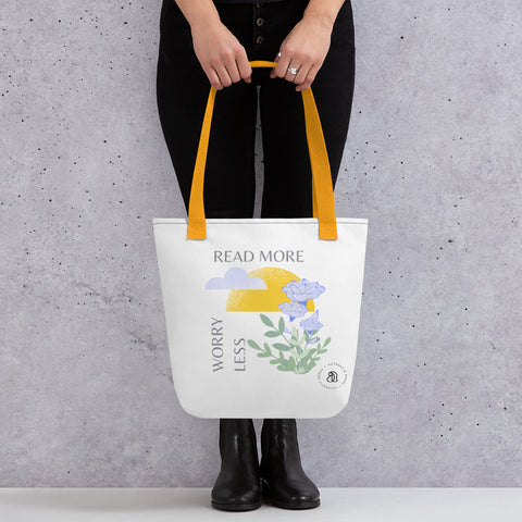 'Worry Less' Tote bag