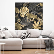 Load image into Gallery viewer, Schilderij-Golden Flowers-PosterGuru