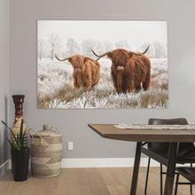 Load image into Gallery viewer, Schilderij-Scottish Highlanders-PosterGuru