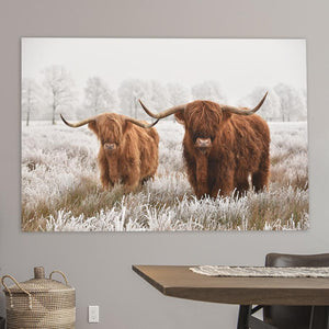 Schilderij-Scottish Highlanders-PosterGuru