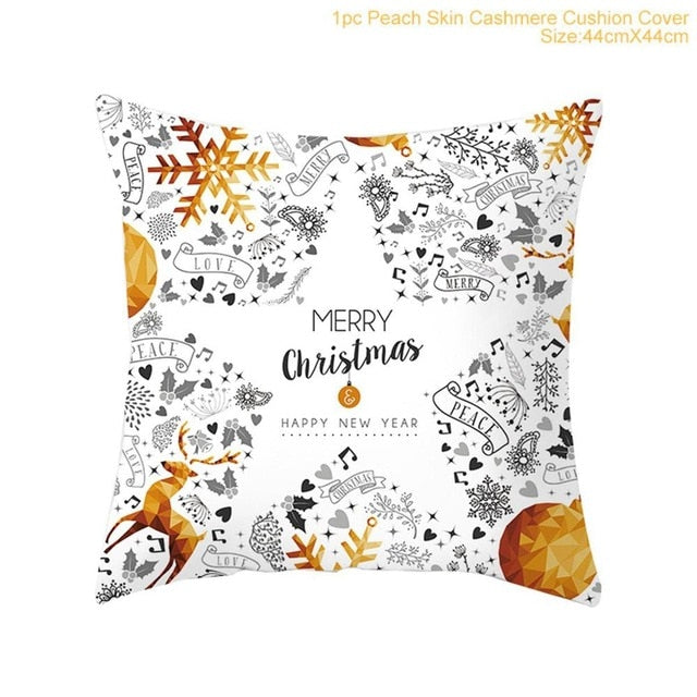 2019 Cotton Linen Merry Christmas