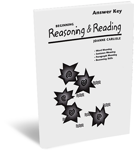 Beginning Reasoning & Reading Answer Key