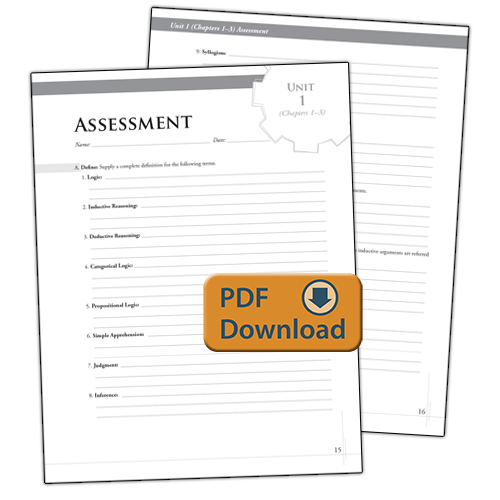 The Discovery of Deduction Assessments, Quizzes & Extra Practice (PDF)