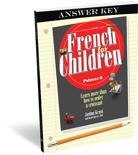 French for Children Primer A Answer Key