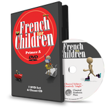 French for Children Primer A Video & Audio