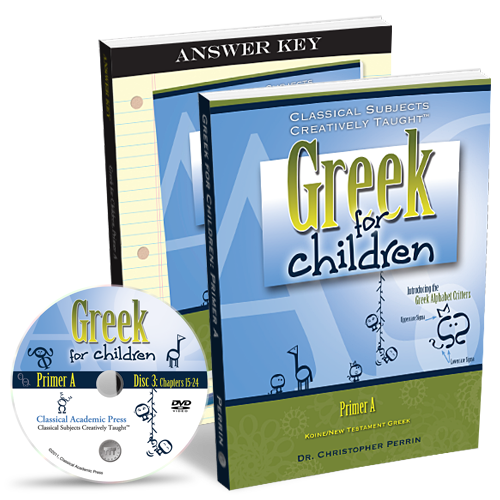 Greek for Children Primer A Program