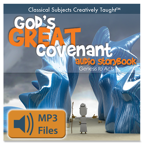 God's Great Covenant Bible Audio Storybook: Genesis through Acts