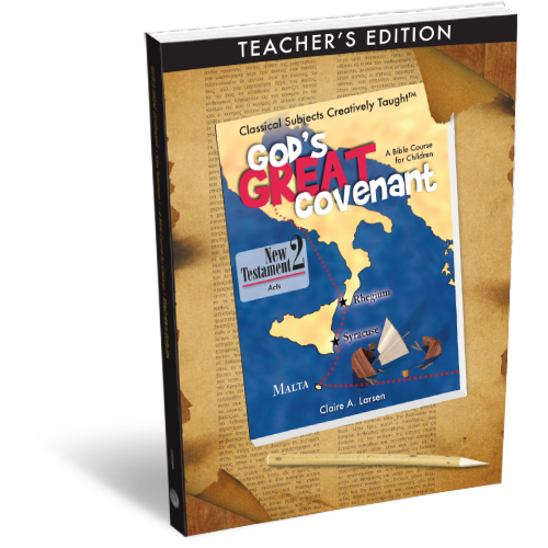God's Great Covenant New Testament 2 Teacher's Edition