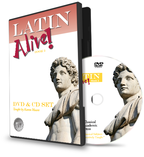 Latin Alive! Book 3 Video & Audio
