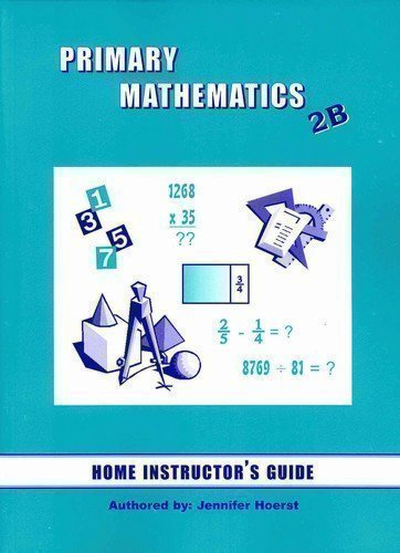 Primary Mathematics Home Instructor's Guide 2B