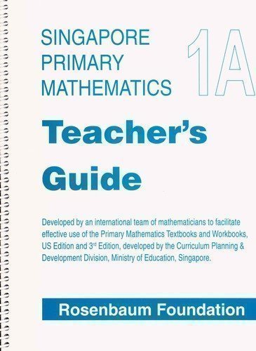Primary Mathematics Teacher's Guide 1A