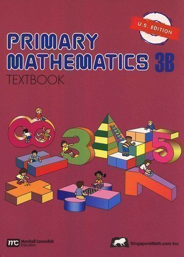 Primary Mathematics Textbook 3B