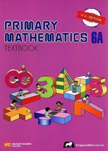 Primary Mathematics Textbook 6A