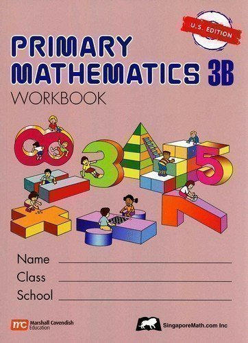 Primary Mathematics Workbook 3B