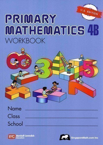 Primary Mathematics Workbook 4B