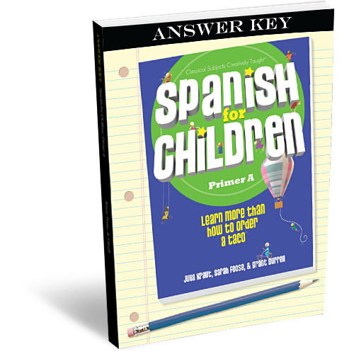 Spanish for Children Primer A Answer Key