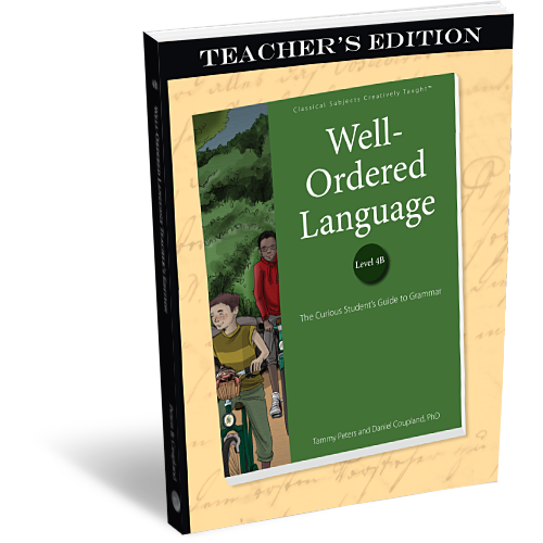 Well-Ordered Language Level 4B Teacher's Edition