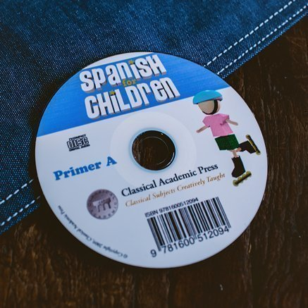 Spanish for Children Primer A Chant Audio