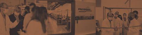 Designated assembly line for Elbit systems