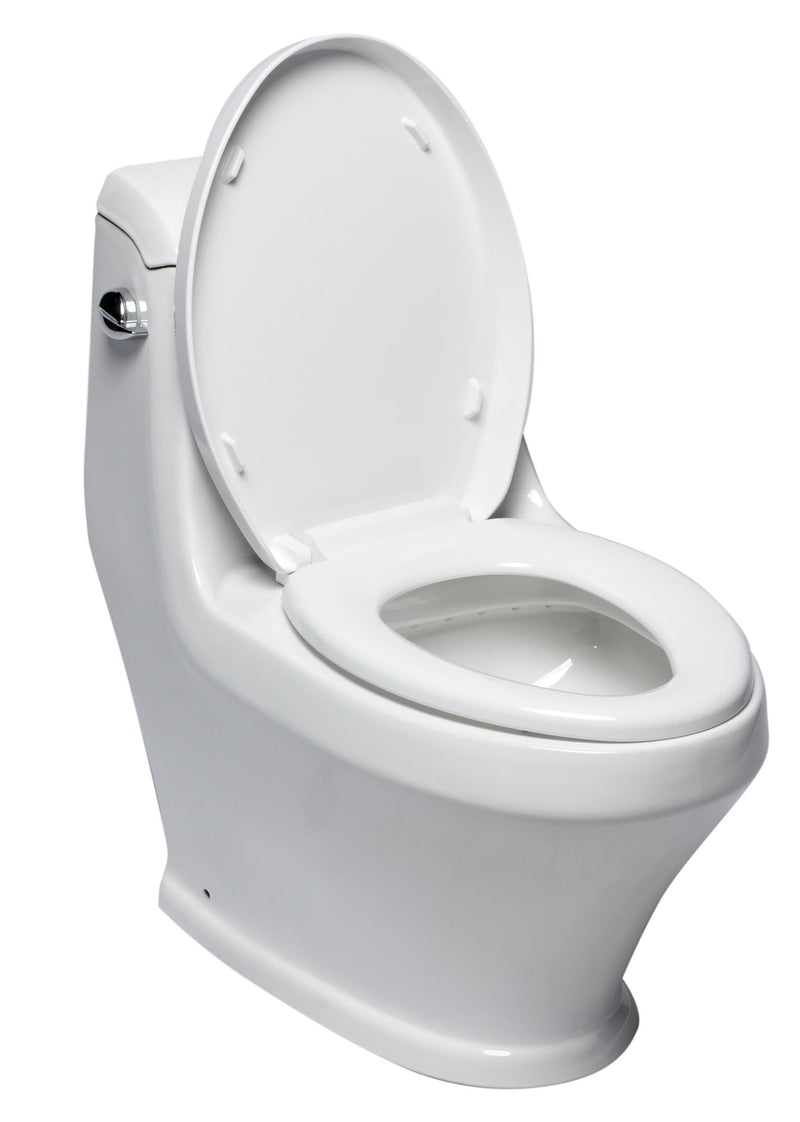 EAGO TB133 Single Flush One Piece Ceramic Toilet