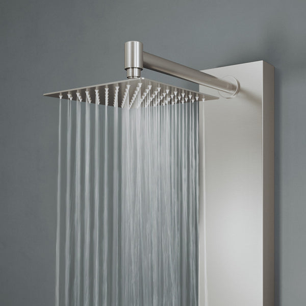 VIGO KINGSLEY SHOWER PANEL IN STAINLESS STEEL