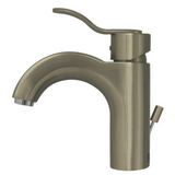 Whitehaus Collection Wavehaus Single Hole/Single Lever Lavatory Faucet with Pop-up Waste