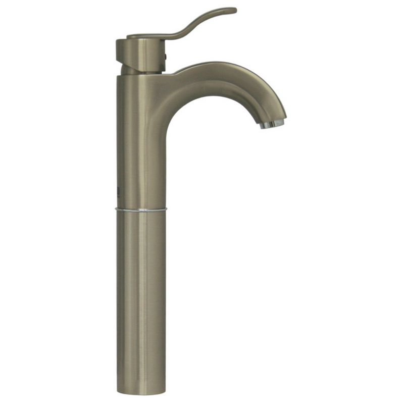 Whitehaus Collection Wavehaus Single Hole/Single Lever Elevated Lavatory Faucet