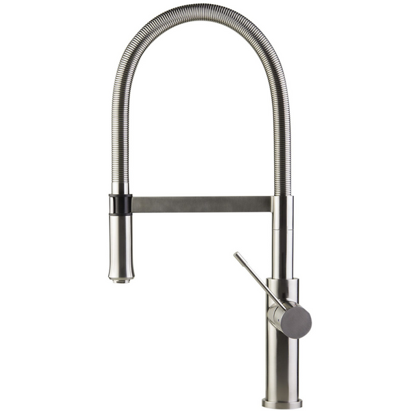 ALFI brand  Brushed Gooseneck Single Hole Faucet