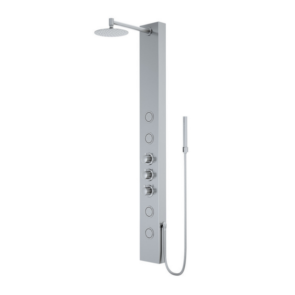 VIGO ELLINGTON SHOWER PANEL IN STAINLESS STEEL