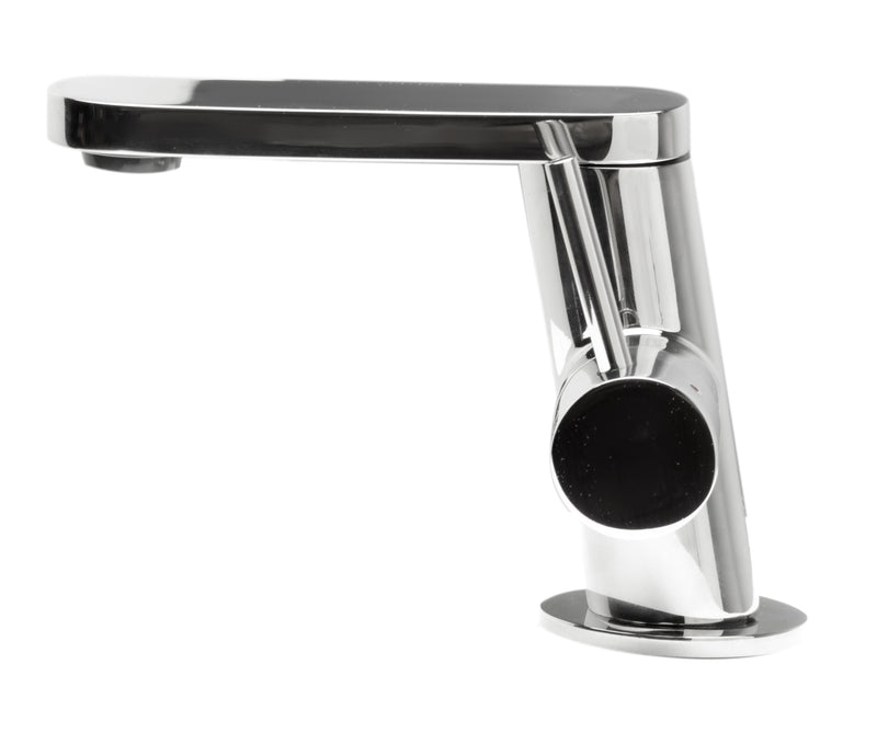 ALFI brand  Ultra Modern Polished Stainless Steel Bathroom Faucet
