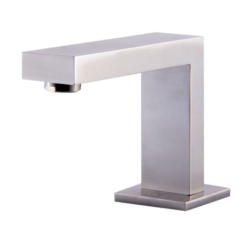 ALFI brand  Brushed Nickel Modern Widespread Bathroom Faucet