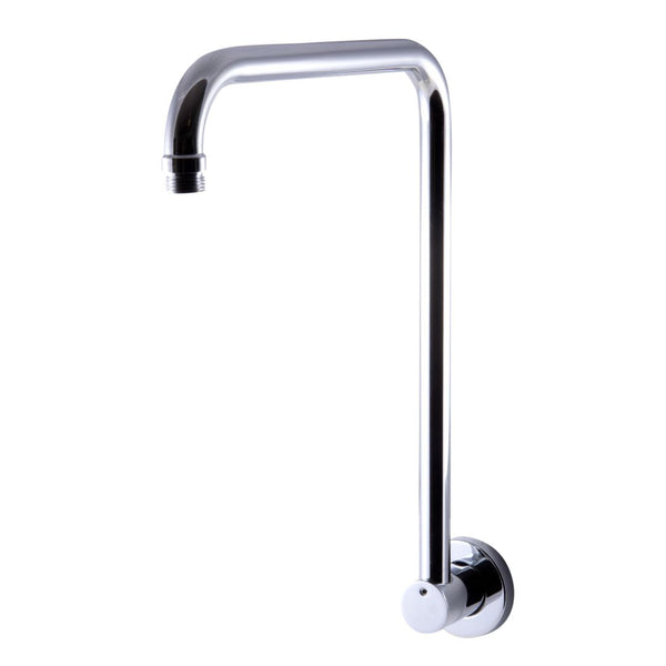 "ALFI brand  Polished Chrome 12"" Round Raised Wall Mounted Shower Arm"