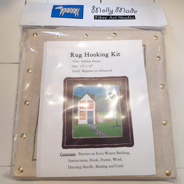 Molly Made large saltbox house rug hooking kit
