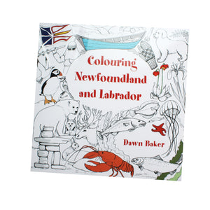 Colouring Newfoundland and Labrador book cover