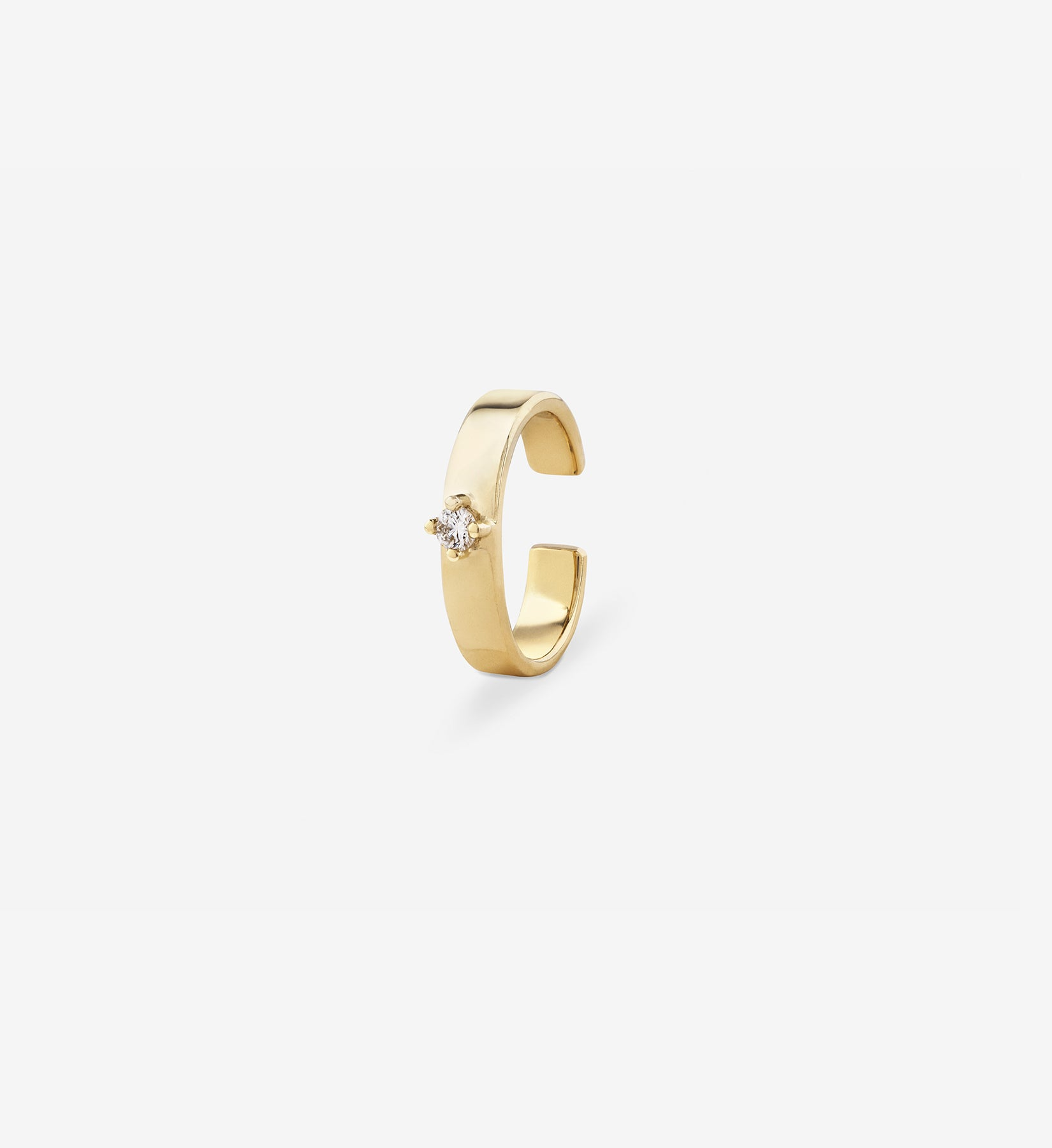 Diamond Earcuff 0.04 in 14K Gold