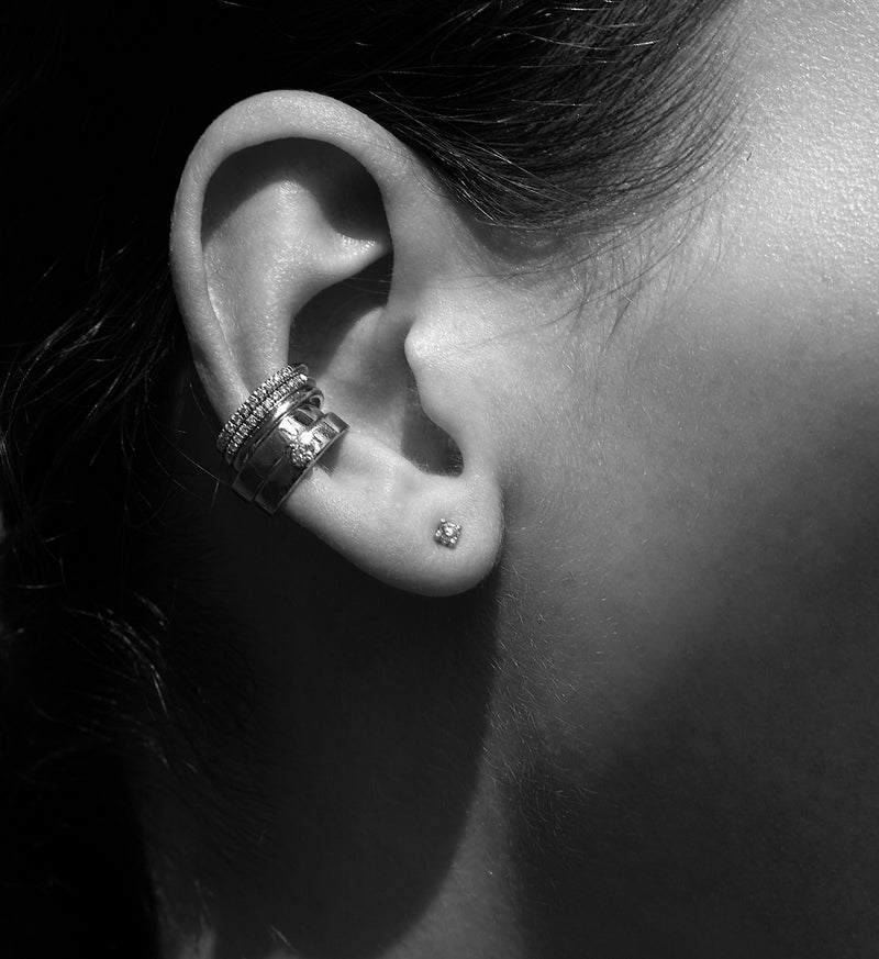 Diamond Earcuff 0.04