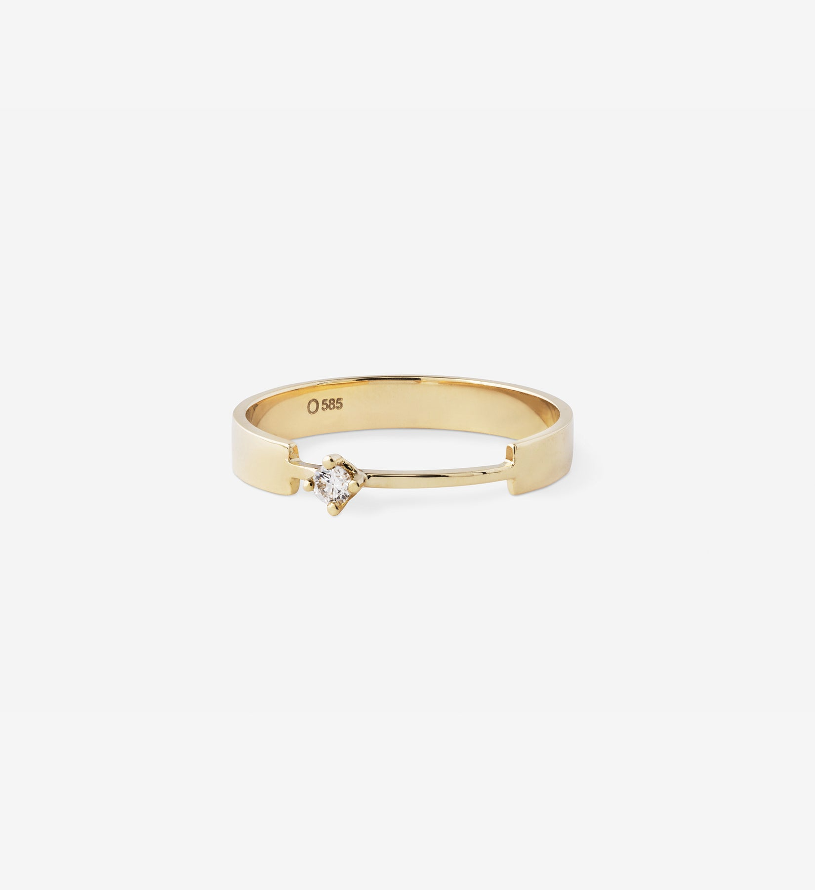 Diamond Ring 0.05 in 14K Gold